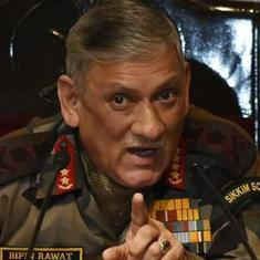 Army chief backs Centre's decision to call off talks with Pakistan