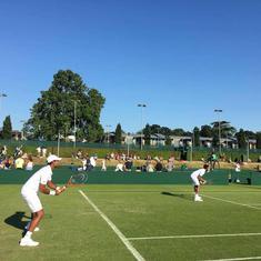 A year after choosing to focus on doubles, Vishnu Vardhan and Sriram Balaji set for Wimbledon debut