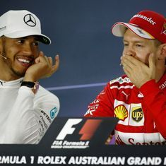 Australian GP: Vettel's win floods Twitter with praise, throwbacks and this season's first meme