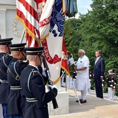 By visiting the Tomb of the Unknowns at Arlington, Modi crossed a sacred line