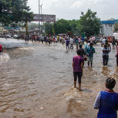 Maharashtra: Parts of Pune inundated after canal wall collapses, authorities rescue residents