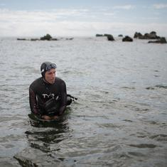 9,000 km through plastic waste and sharks: France's Lecomte to swim from Tokyo to San Francisco