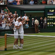 Serve, serve, serve, switch hit: Anderson vs Isner was both historic and a call for change