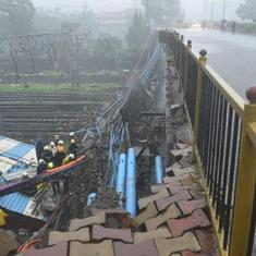 The big news: Part of overhead bridge collapses in Mumbai's Andheri, and nine other top stories