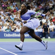 Coming back from a baby harder than I thought, admits Serena after reaching US Open quarters