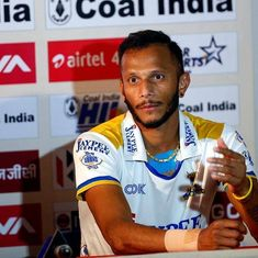 The aim is to reach a top-three world ranking, says India's hockey striker SV Sunil