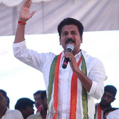 Telangana: I-T personnel raid state Congress working president Revanth Reddy's house