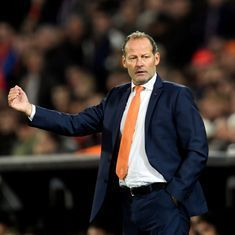 Netherlands sack Danny Blind as head coach after 2-0 defeat to Bulgaria in World Cup qualifiers