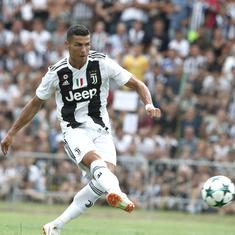 Cristiano Ronaldo rape allegations: Juventus' shares fall by 10 percent, sponsors 'deeply concerned'