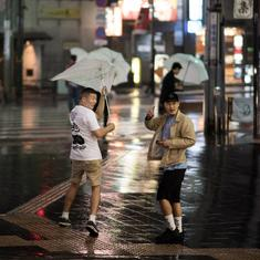 Japan: Typhoon Trami leaves two dead, at least 160 injured