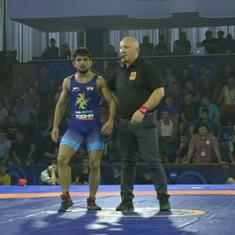 Wrestling Junior World C'ships: Vijay wins silver, two women wrestlers in line to win bronze