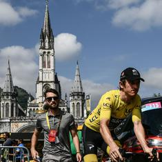 Tour de France: Geraint Thomas on the cusp of becoming first Welsh champion