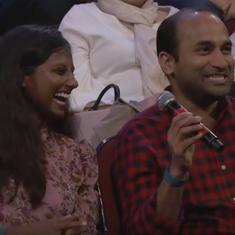 Watch: Jimmy Kimmel asks an Indian couple about how they were set up through an arranged marriage