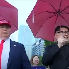 Watch: Who needs the real Donald Trump and Kim Jong Un when you have their impersonators?