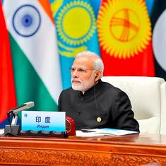 Connectivity with our neighbours is priority, says Modi at Shanghai Cooperation Organisation summit