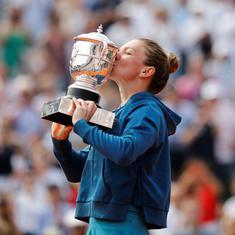 फ्रेंच ओपन : रोमानिया की सिमोना हालेप ने महिला सिंगल्स का खिताब जीता