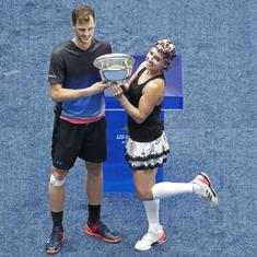US Open: Mattek-Sands, Murray win mixed doubles title, Bryan-Sock lift men's title