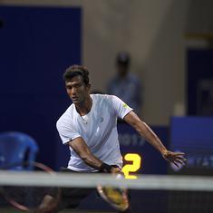 Indian tennis: Sriram Balaji and Saketh Myneni enter Liuzhou Challenger quarters