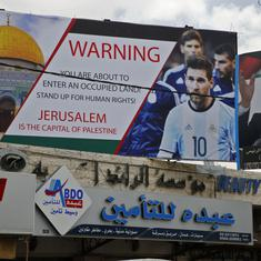 Palestine football chief gets one-year 'match' ban over Messi comments
