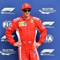 Kimi Raikkonen drives fastest lap in F1 history to grab Italian Grand Prix pole