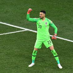 'Subasic saved us!': Croatia hail goalkeeper after World Cup heroics