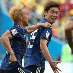 फुटबॉल विश्व कप : कोलंबिया को 2-1 से शिकस्त देकर जापान ने इतिहास रचा