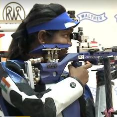 Junior World Cup: India's Elavenil Valarivan, Mehuli Ghosh win 10m air rifle gold and silver
