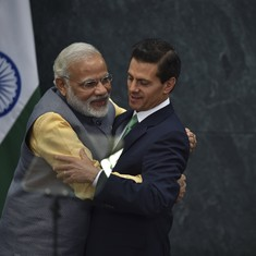 Mexico backs India's bid to join Nuclear Suppliers Group