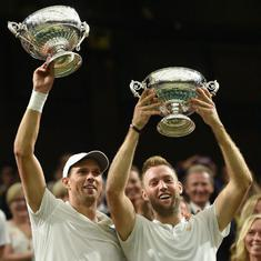 Wimbledon: Mike Bryan lifts first Slam with Jack Sock, Siniakova-Krejcikova win record title