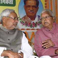 Bihar Chief Minister Nitish Kumar said to be seeking reconciliation with Lalu Yadav