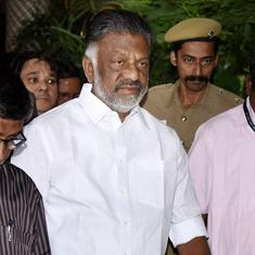 Tamil Nadu Deputy CM Panneerselvam flies to Delhi to meet defence minister, but isn't allowed to