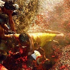 Watch: Scenes from a religious ritual in Punjab where devotees walk barefoot on red hot coals