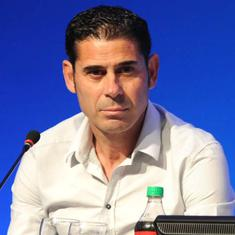 'I don't think it's something for now': Hierro not thinking about Spain future after World Cup exit