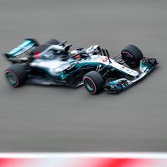 F1: Hamilton on top in Sochi as Vettel admits Ferrari 'struggling'
