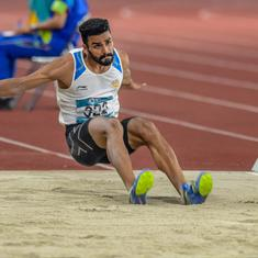 India's Arpinder Singh wins bronze in triple jump at IAAF Continental Cup