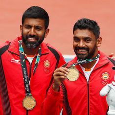 एशियाई खेल 2018 : रोहन बोपन्ना और दिविज शरण की जोड़ी ने भारत को छठवां स्वर्ण पदक दिलाया