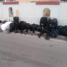 Zimbabwe rugby team sleeps on street in Tunisia over 'disgusting' hotel