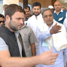 As the Congress faces a mutiny in Karnataka, Rahul Gandhi has chosen to take a break