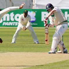 Ireland openers Joyce and Porterfield fight back after Pakistan enforce follow-on