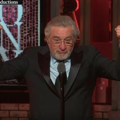 'F**k Trump': Watch Robert De Niro hurl F-bombs at Trump on stage during the Tony Awards. Twice
