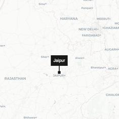 Rajasthan: Car runs over four people sleeping on a pavement in Jaipur, two dead