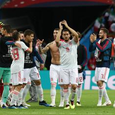 'It's very difficult to score against them': Coach Hierro relieved Spain survived tough Iran test