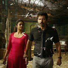 'Saamy Square' trailer: Vikram is on a punching spree (even the heroine is not spared)