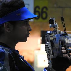 KSS Shooting Championship: Adarsh Singh bags fourth gold, Mehuli Ghosh tops qualification
