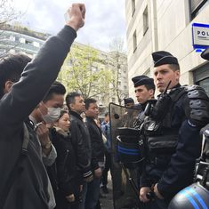 Protests in Paris after Chinese man shot dead by French police