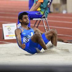 World Athletics C'ships: Jabir reaches 400m hurdles semi-finals, long jumper Sreeshankar disappoints