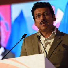 Sports Minister Rathore promises funding for 2022 Asiad, CWG medal prospects