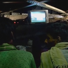 Video: This makeshift cinema in New Delhi is keeping rickshaw drivers away from drugs