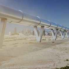 This test run of Hyperloop shows people can soon travel at 700 miles an hour without taking a plane