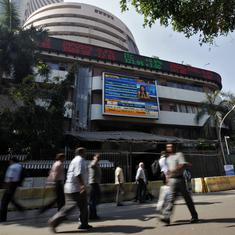 Sensex, Nifty end flat after hitting all-time highs, oil prices surge